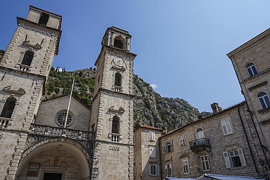 """<a href=""""https://www.flickr.com/photos/marz88/12875697803"""" target=""""_blank"""">Cathedral of Saint Tryphon in Kotor, &copy; by Marz88, on Flickr</a>"""