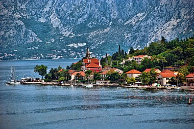 """<a href=""""https://www.flickr.com/photos/21078769@N00/9694829732"""" target=""""_blank"""">The Bay of Kotor, &copy; by Trish Hartmann, on Flickr</a>"""