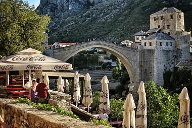 """<a href=""""https://www.flickr.com/photos/randydurrum/9784939331"""" target=""""_blank"""">Mostar, &copy; by Randy Durrum, on Flickr</a>"""